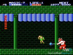 Zelda II - The Adventure Of Link- NES