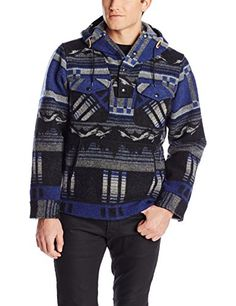 Woolrich Men's Wool Mountain Popover Jacket