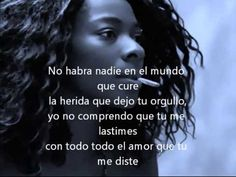 concha buika-no habra nadie en el mundo (with lyrics) - YouTube