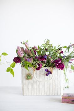 editorial shoot...vintage props with a little purple inspiration @prettyfetes