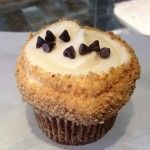 Chocolate Chip Cheesecake Cupcake
