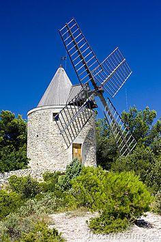 Windmill of Boulbon, Provence, France