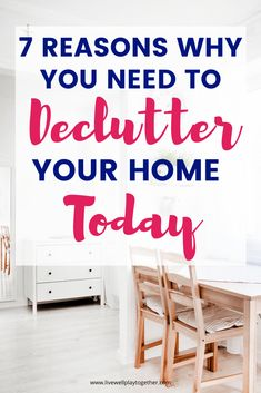 Declutter Your Home: 7 Practical Benefits of Decluttering – Live Well Play Together Declutter Your Home: 7 Practical Benefits of Decluttering – Live Well Play Together,Homemaking Declutter Your Home: 7 Practical Benefits of Decluttering. Declutter Your Home, Organizing Your Home, Organizing Clutter, Minimalism Living, Clutter Control, Getting Rid Of Clutter, Home Organization Hacks, Organizing Ideas, Home Hacks