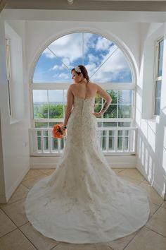 The Dress // Nautical Wedding // Destination Wedding @Windjammer Landing #Windjammer #destinationwedding #stlucia #nauticalwedding #dress