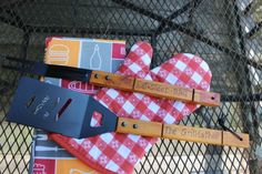 BBQ Grill Gift Set- Order Now and Get in Time for Father's Day! by AWhimsicleLove on Etsy