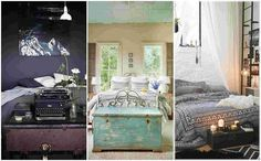 Decorated rooms with trunks - 42 great ideas