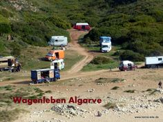 Lifestyle Nomadisch Leben an der Algarve, Portugal