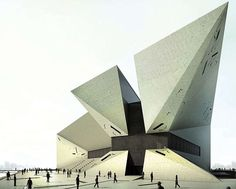 WWII Museum - a concept by Stanislavov Architects (STARH):
