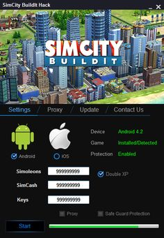 SimCity BuildIt Hack Cheats Tool   SimCity BuildIt Hack is Modhacks.com a new tool, that we all want to present to you. If you ever glimpse at all the other hacks on line, this amazing tool is the most effective. This specific tool was made to be functioning on Android os and iOS devices. That …