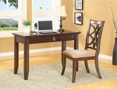 Katherine, Katherine Home Office Desk, Dining Room Table Sets, Bedroom Furniture, Curio Cabinets and Solid Wood Furniture - Model 5020 - Home Gallery Stores Furniture Solid Wood Furniture, Kids Furniture, Bedroom Furniture, Home Office Desks, Office Decor, Homework Area, Writing Desk, Dining Room Table, Cabinet