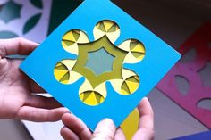 Kaleidograph cards - Using color, patterns and shapes to create different cards. Not sure I could tire of this!