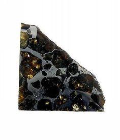 Seymchan Pallasite Cut and Polished Meteorite 10.0 gram Specimen - found in 1967