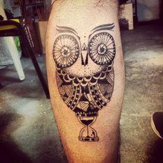 As descoladas tatuagens de Matheus Dias
