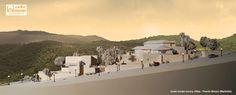 Luxury villas scale model 1:100 Maquetas villas Marbella Puerto Banús Maquetas en Málaga  Cascada de Camojan