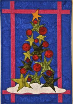 Oh! Christmas Tree by Jen Houden   Quilts by Jen.  Pattern by Linda Sullivan from the December 2005 issue of Quilter's World.