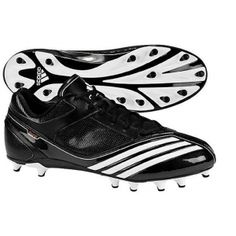SALE - Adidas Lightning Fly Football Cleats Kids Black Synthetic - Was $49.99 - SAVE $13.00. BUY Now - ONLY $36.97