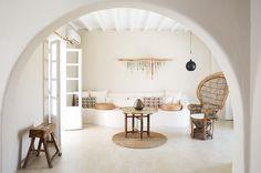 "700 Likes, 10 Comments - San Giorgio Mykonos (@sangiorgiomyk) on Instagram: ""Find space to unwind in our Casa Famosa. #sangiorgiolove #interiordesign #mykonos"""