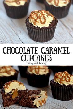 Chocolate Caramel Cupcakes