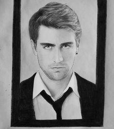 Pencil Drawings, Art Drawings, Allu Arjun Wallpapers, Boy Drawing, Face Sketch, Turkish Beauty, Amazing Drawings, Turkish Actors, Best Actor