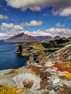 The Cuillins, Elgol, Island of Skye, Scotland, by Tom