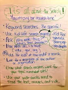 Research anchor chart from @courtney_thyme