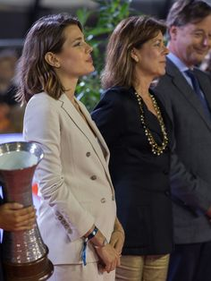 Charlotte Casiraghi turned heads at Monte Carlo's horse jumping events on Friday 28 June 2013 and Saturday 29 June 2013, when the royal stepped out with her mother, Princess Caroline, and uncle, Prince Albert of Monaco. Charlotte, 26, who has taken part in the show jumping competition in previous years.  There is speculation that she is pregnant.