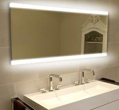 Bathroom Mirror Za bathroom mirror with led lightning | dream home | pinterest