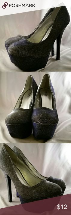 High Heel Shoe Size 8 Pre-owned, high heel shoe by Charlotte russe, great condition Shoes Heels