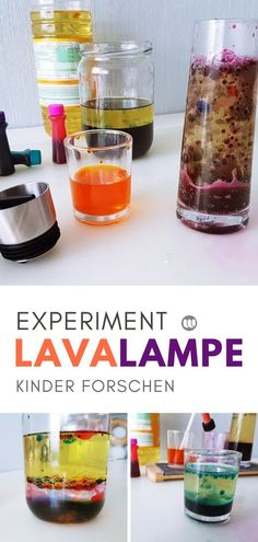 Lavalampe selber machen: Wasser Öl Experiment für Kinder Children research: Simple experiments with water, food coloring and oil to imitate The post Make lava lamp yourself: water oil experiment for children appeared first on Monica& Secret World. Origami Diy, Kids Origami, Origami Tutorial, Diy Crafts To Do, Crafts For Kids, Creative Crafts, Lava Lamp Experiment, Diy Adornos, Craft Day