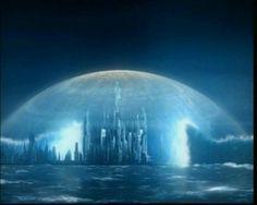 "Stargate Atlantis - Season 1 Episode 11 ""The Eye"" Stargate Atlantis, Atlantis The Lost Empire, Fantasy World, Fantasy Art, Fantasy Story, Science Fiction, Stargate Universe, Marvel Universe, Underwater City"