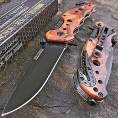 Tac-Force Spring Assisted Opening Red Camo Tactical Rescue Folding Pocket Knife in Collectibles, Knives, Swords & Blades, Folding Knives | eBay