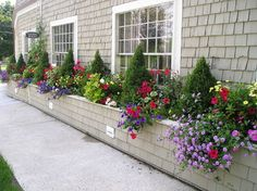 Landscape Window Boxes Design, Pictures, Remodel, Decor and Ideas - page 17