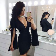 Sem palavras para descrever esse vestido deuso!  . Disponível nas cores preto azul serenity e rosé