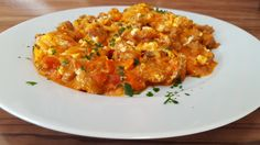 Griechischer Hackauflauf mit Kritharaki-Nudeln Pasta, Nom Nom, Curry, Food And Drink, Beef, Chicken, Cooking, Ethnic Recipes, Harry Potter