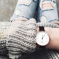 Love a good watch! // Follow @ShopStyle on Instagram to shop this look