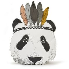 Baby-Kid-Children-Toy-Pillow-Bed-Sofa-Decorative-Indian-Panda-Cushion-Gift