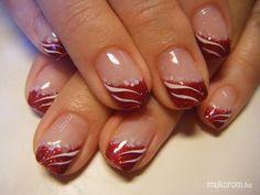 Pinknails Anita - bordó csillámos - 2011-09-17 15:24