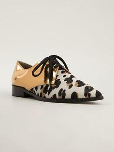 Marni Contrast Lace Up Shoes - Cuccuini - Farfetch.com