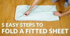 I HATED Folding Fitted Sheets. But These 5 Simple Steps Have Me Looking Forward To Them!