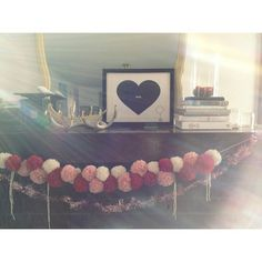Transitioning some things from Christmas to V-Day. Print by @Stacie Bloomfield - Gingiber. by Smile And Wave, via Flickr