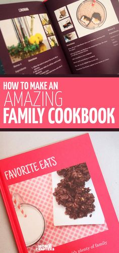 Have you ever tried to make a family cookbook? Making A Cookbook, Create A Cookbook, Homemade Cookbook, My Cookbook, Cookbook Recipes, Cookbook Design, Cookbook Ideas, Family Meals, Family Recipes