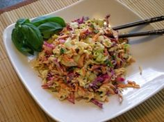 Asian Vinaigrette Salad Dressing  Just made this for my lunch & it's delicious!