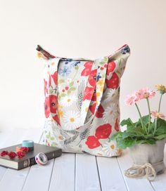 Tote bags, Linen bag, Shopping bags, Shoulder bag, Reusable bag, Natural linen bag, Linen market bag, custom Handbags, Women bag, Poppies by LinenPearls on Etsy https://www.etsy.com/uk/listing/526591345/tote-bags-linen-bag-shopping-bags