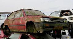 Toyota Tercel 1984 | Autosloperij GAOS, Emmeloord, Netherlan… | Wouter Bregman | Flickr