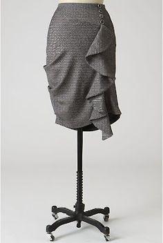 DIY skirt! :D