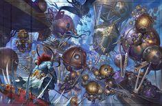 ArtStation - Kharadron overlords , johan grenier