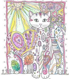 Creative Cats Coloring book