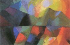August Macke (1887 – 1914) Color composition