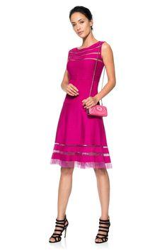 Guest Wedding Dress -, Venice Lace Box Clutch | Tadashi Shoji