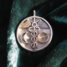 Alchemical Wedding Talisman Symbol of Unity. Made once a month according to Sun and Moon Location
